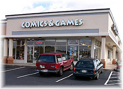Batty's Best Comics & Games
