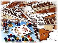 New Games in Old Rome components